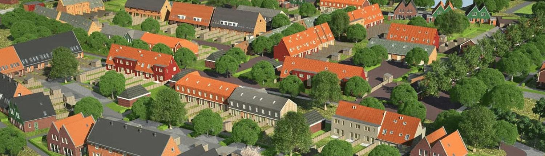 Nieuwbouwplan Westerdel Broek op Langedijk